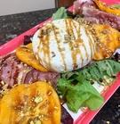 persimmon salad with prosciutto