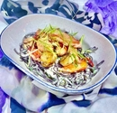 Thai Coconut Noodles with Lobster and Scallops